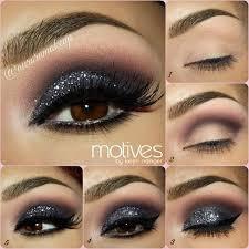 25 best ideas about black eyeshadow tutorial on black makeup black smokey eye and intense eye makeup