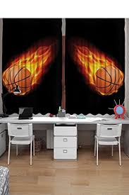 Basketball Curtains Basketball Lovers Amazon Com