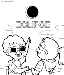 eclipse coloring pages pdf free coloring pages