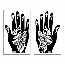 compare prices on henna hand template online shopping buy low