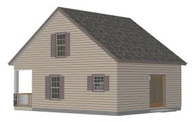 Cabin House Plans With Loft 28 U2032 X 28 U2032 1 1 2 Story Cabin With Loft Cabin Plans
