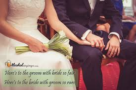 sayings for and groom here s to the groom with so fair here s to the with