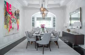 Artwork For Dining Room 40 Dining Rooms With Standout Artwork Inspiration Dering Hall