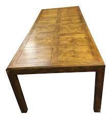 vintage henredon dining table chairish