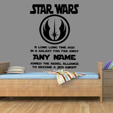 Personalised Home Decor Sticker Name Picture More Detailed Picture About Star Wars Vinyl