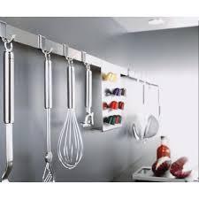 porte ustensile cuisine barre porte ustensiles de cuisine inox de 40 à 100 cm rosle