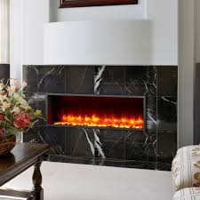 dynasty fireplaces 55 u2033 built in led wall mount electric fireplace