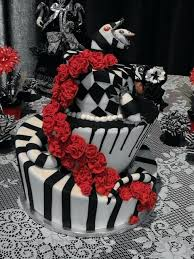 tim burton cake designs inspired cakes z cake ideas