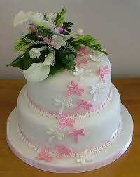 two tier wedding cakes too nice to slice