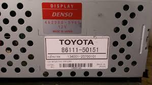 used lexus ls430 parts for sale 01 02 03 lexus ls430 gps display screen 86111 50151 oem ebay