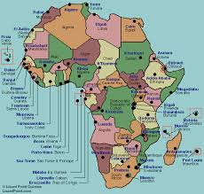 africa map with country names and capitals test your geography knowledge africa capital cities quiz