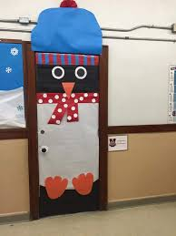School Door Christmas Decorations