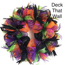 Easy Halloween Wreaths by This Beautiful Halloween Wreath Is Made With Three Different