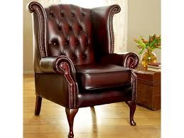 Wingback Chair Ottoman Design Ideas Chair Design Ideas Luxurious Leather Wing Chairs Design Leather