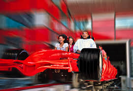 ferrari building largest indoor theme park ferrari world sets world record