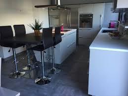 cuisine blanche avec ilot central cuisine blanche avec ilot central et table collection avec cuisine