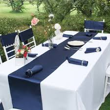 navy blue table linens brand luxury satin table runner elegant table runners table cloth
