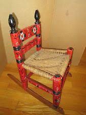 Red Rocking Chairs Red Original Rocking Chairs Antique Furniture Ebay