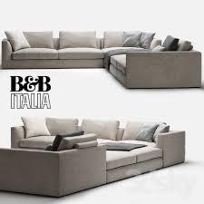b b italia sofa b b italia richard 3d models free