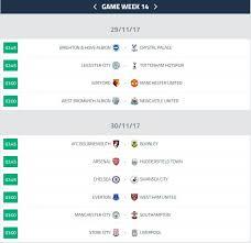 Jadwal Liga Inggris Jadwal Liga Inggris Pekan14 Berita Bola Update Bola Bursa