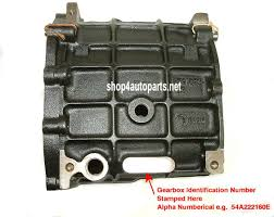 land rover gearbox identification