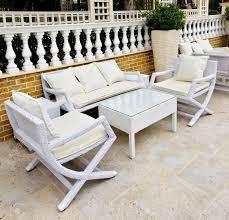 White Resin Wicker Loveseat White Wicker Outdoor Furniture Roselawnlutheran