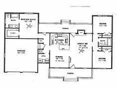 1500 Square Foot Ranch House Plans Country Style House Plans 1500 Square Foot Home 1 Story 3