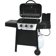 Brinkmann 6 Burner Bbq by 3 Burner Gas Grill With Side Burner Walmart Com