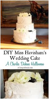 diy miss havisham wedding cake