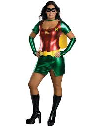 halloween costumes plus size womans robin costume plus size batman halloween costumes