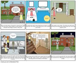 haunted house story storyboard by marissaknee