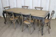 Distressed Dining Table EBay - Distressed kitchen table