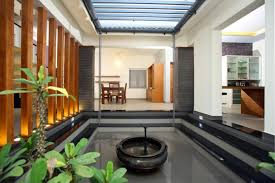 Contemporary Home Interior Designs Beautiful Houses Interior In Kerala Google Search Courtyard