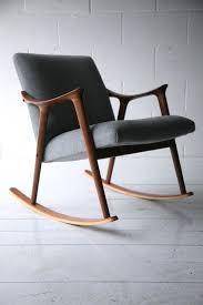 Rocking Lounge Chair Design Ideas Teak Rocking Chair By Ingmar Relling For Westnofa 5