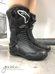 used motorcycle boots alpinestars smx 6 womens motorcycle boots review by gearchic com