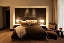 Contemporary Bedroom Design Ideas 2015 Masculine Bedding Black Standing Table Lamp Shade Small White