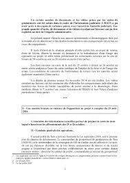bureau d ordre et d emploi rapport d enquête administrative relative à la conduite des opération