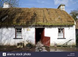 Thatched Cottage Ireland by Irish Cottage With Thatched Roof At Bunratty Folk Park County