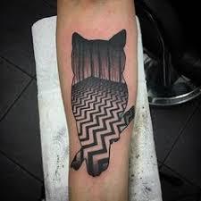 twin peaks tribute by me logan bramlett wanderlust tattoo