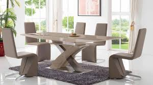 7 Piece Dining Room Sets Esf Furniture 2122 6609 7 Piece Dining Room Set In Taupe By Dining