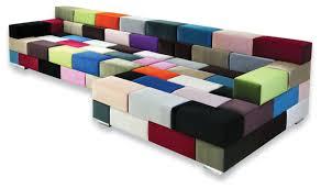 sofa beds design brilliant modern colorful sectional sofa ideas