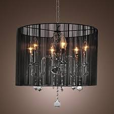 Black Ceiling Light Shade Black L Shade Modern Chandeliers Pendant Lights