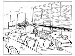 spiderman coloring pages free printable ultimate spiderman 279644