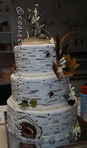 western wedding cakes aspen tree western wedding cake
