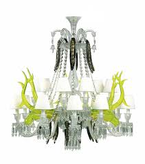 15 Light Chandelier Baccarat Crystal Etrange Zenith Sur La Lagune 15 Light Crystal