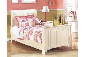 Sleigh Bed Frame Cottage Retreat Twin Sleigh Bed Ashley Furniture Homestore