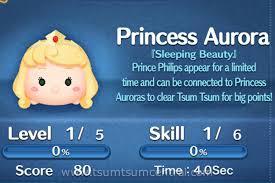 princess aurora tsum tsum central game