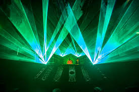 halloween laser lights check out these crazy halloween festival photos