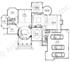 Modern Castle Floor Plans 2500 To 4000 Sq Ft Taron Design Inc Log Home Plans Endearing House