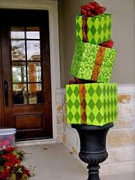 Front Porch Topiary 10 Christmas Door Decorations Diy